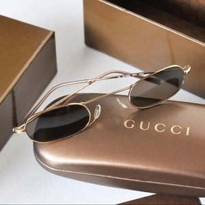 🎉HP🎉Gucci Gold Vintage Tom Ford Era Gg 1656/S